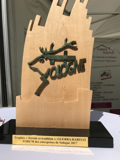 """Trophée catégorie """"Terroir&Tradition"""""""